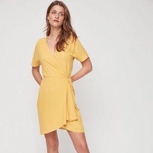 Yellow Babaton dress in XS WORN ONCE